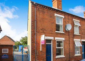 Thumbnail 2 bed end terrace house to rent in Hastings Street, Loughborough