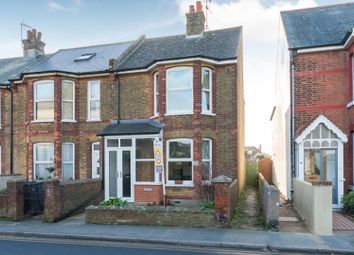 Thumbnail 3 bed end terrace house for sale in Cornwall Road, Walmer, Deal