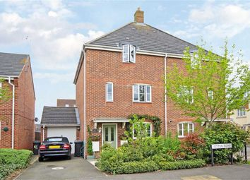Thumbnail 3 bed town house for sale in Otter Row, Covingham, Swindon