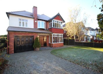 Thumbnail 5 bed detached house for sale in Broadoak Road, Bramhall, Stockport