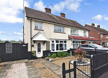 Thumbnail 3 bed semi-detached house for sale in Roosevelt Avenue, Chatham, Kent
