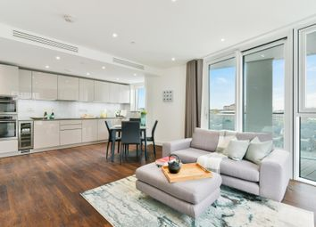 Thumbnail 2 bedroom flat to rent in Haydn Tower, Nine Elms Point, London