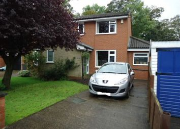 Thumbnail 3 bed semi-detached house for sale in Bannister Hall Drive, Preston, Lancs