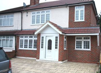 Thumbnail 5 bed semi-detached house for sale in Willowbrook Road, Staines