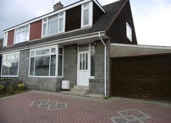Thumbnail 3 bedroom semi-detached house to rent in Kinkell Road, Hazlehead, Aberdeen