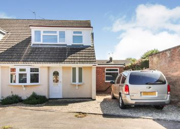 Thumbnail 3 bed semi-detached bungalow for sale in Hazelbank Road, Countesthorpe