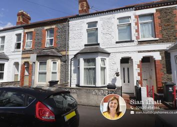 Thumbnail 3 bed terraced house for sale in Alfred Street, Roath, Cardiff