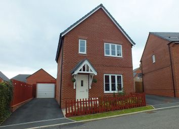Thumbnail 3 bedroom detached house for sale in Rudyard Lake Grove, Brindley Village, Sandyford, Stoke-On-Trent