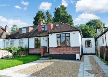 Thumbnail 4 bed semi-detached bungalow to rent in Hillside Road, Northwood, Middlesex