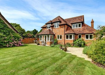 Thumbnail 4 bed detached house for sale in The Rookery, Peasemore, Newbury, Berkshire