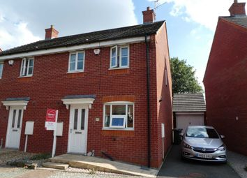 Thumbnail 3 bed semi-detached house to rent in Woodleigh Road, Long Lawford, Rugby