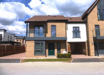 Thumbnail 3 bed semi-detached house for sale in Harvard Way, Oakgrove Village, Milton Keynes