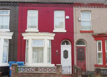 Thumbnail 3 bed terraced house for sale in Gladstone Road, Walton, Liverpool