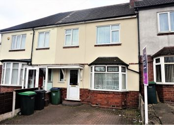 Thumbnail 3 bed terraced house for sale in Jowetts Lane, West Bromwich