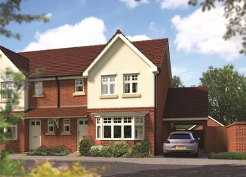 Thumbnail 3 bed terraced house for sale in Emmbrook Place, Matthewsgreen Road, Wokingham, Berkshire