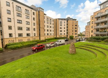 Thumbnail 1 bed flat for sale in Hawkhill Close, Edinburgh