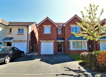 Thumbnail 4 bed detached house for sale in Maes Glas, Mold