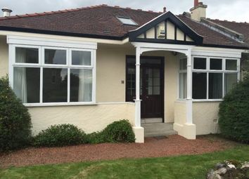 Thumbnail 4 bedroom semi-detached bungalow to rent in Jordanhill Drive, Glasgow