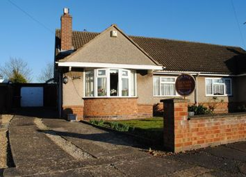 Thumbnail 2 bed semi-detached bungalow for sale in Eastern Close, Kingsthorpe, Northampton