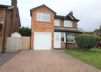 Thumbnail 4 bed detached house for sale in Shropshire Drive, Glossop