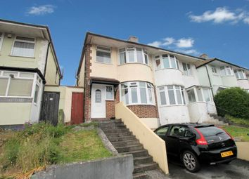 Thumbnail 3 bedroom semi-detached house for sale in Cardinal Avenue, St Budeaux