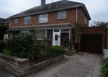 Thumbnail 3 bed property to rent in Windermere Road, Tettenhall, Wolverhampton