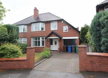 Thumbnail 5 bed semi-detached house to rent in Branksome Avenue, Prestwich, Manchester