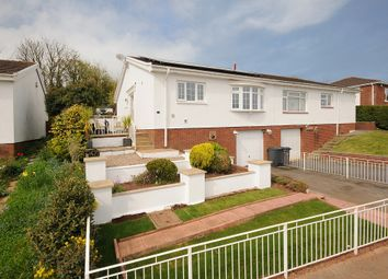 Thumbnail 2 bed bungalow for sale in Rocombe Close, Torquay