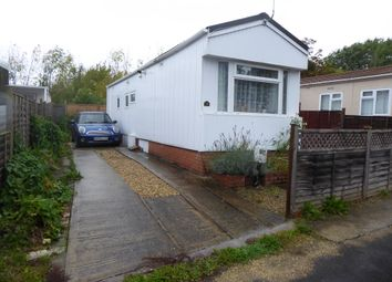 Thumbnail 1 bedroom mobile/park home for sale in Kingsdown Park, Swindon, Wiltshire