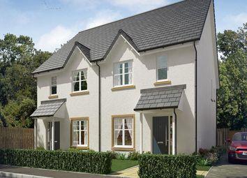 Thumbnail 3 bed semi-detached house for sale in Vert Court, Haldane Avenue, Haddington
