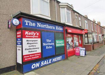 Thumbnail Retail premises for sale in 2 Osborne Terrace, Ferryhill