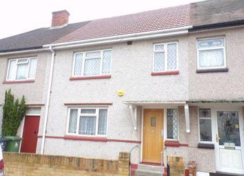 Thumbnail 3 bed terraced house for sale in Dagenham, Essex, .