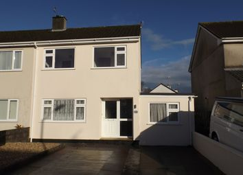 Thumbnail 4 bed semi-detached house for sale in Dennison Avenue, St Austell