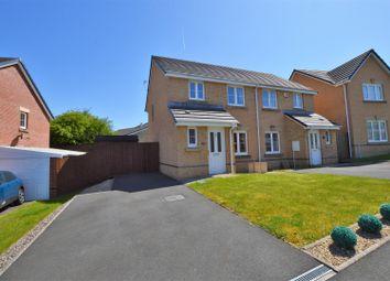 Thumbnail 3 bed semi-detached house for sale in Ffordd Y Dolau, Llanharan, Pontyclun