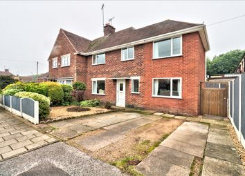 Thumbnail 4 bed semi-detached house for sale in Robin Hood Avenue, Warsop, Mansfield