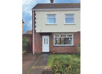 Thumbnail 2 bedroom semi-detached house for sale in Lanark Drive, Jarrow, Tyne And Wear
