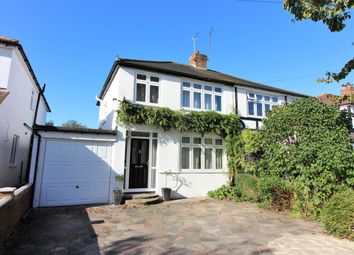 Thumbnail 3 bed semi-detached house for sale in Balmoral Crescent, West Molesey