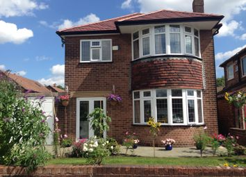 Thumbnail 3 bed detached house for sale in Meadow Close, Stretford, Manchester