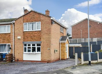 Thumbnail 3 bed semi-detached house for sale in Meadway Street, Burntwood