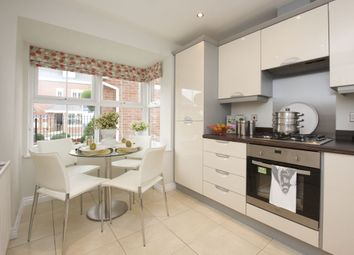 "Thumbnail 4 bed terraced house for sale in ""Woodcote"" at Howes Drive, Marston Moretaine, Bedford"