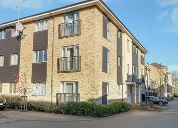 Thumbnail 2 bed flat for sale in Alice Bell Close, Cambridge