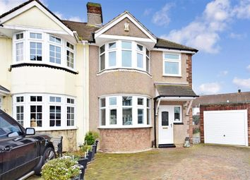 Thumbnail 3 bed semi-detached house for sale in Mayplace Close, Kent, Kent