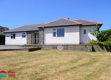 Thumbnail 4 bed detached bungalow for sale in Llangwnadl, Pen Llyn, North Wales