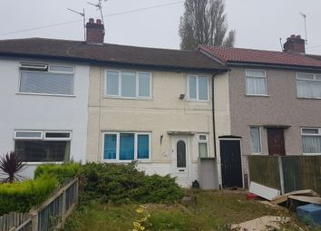 Thumbnail 3 bed terraced house for sale in Brook Road, Great Sutton, Ellesmere Port