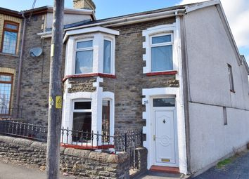 Thumbnail 4 bed end terrace house for sale in Capel Street, Bargoed