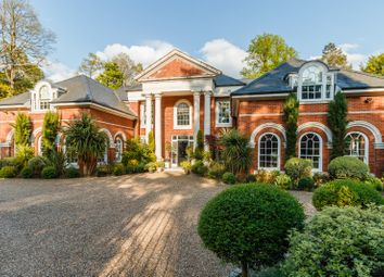 Thumbnail 7 bed detached house for sale in Woodlands Road West, Virginia Water, Surrey