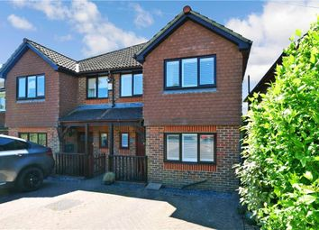 3 bed semi-detached house for sale in Dynes Road, Kemsing, Sevenoaks, Kent TN15