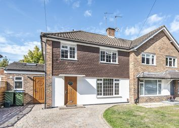 Thumbnail 3 bed semi-detached house for sale in Waverley Road, Oxshott, Leatherhead