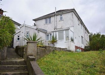 Thumbnail 4 bed semi-detached house for sale in Granogwen Road, Mayhill, Swansea