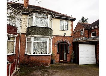 Thumbnail 3 bed semi-detached house for sale in Coleshill Road, Birmingham